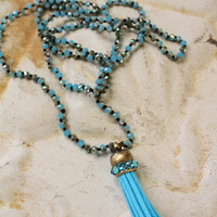 Gypsy Turquoise Necklace