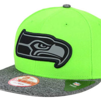 Seattle Seahawks NFL Gridiron Hook 9FIFTY Snapback Cap