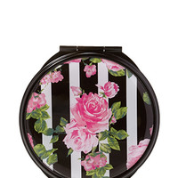 FOREVER 21 Rose Print Compact Mirror