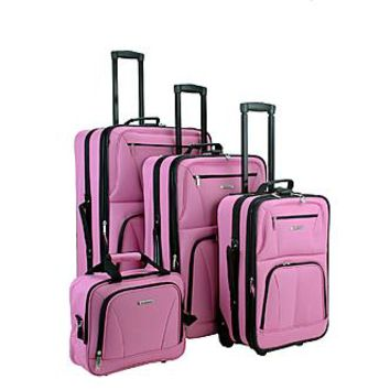 Rockland Fox Luggage 4 PIECE LUGGAGE SET