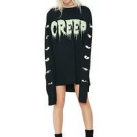 Peepin' Creep Long Sleeve Tee