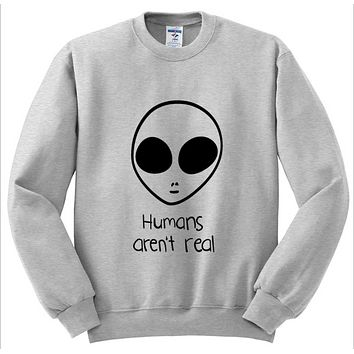 Humans,  Alien letter sweater