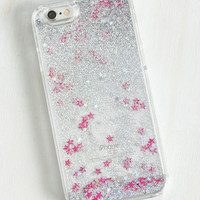 Luxe Your Fairy Share iPhone 6, 6s Case in Silver Dazzle by ModCloth