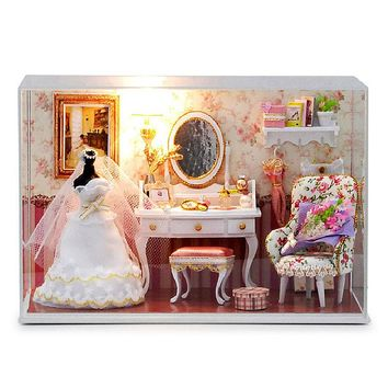 CuteRoom doll house diy kit  T-001 Love You Forever bride's room