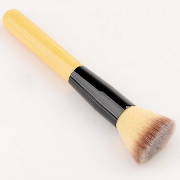 Professional Bamboo Handle Fixed Makeup Brush