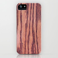 Wood texture iPhone & iPod Case by Courtney Burns