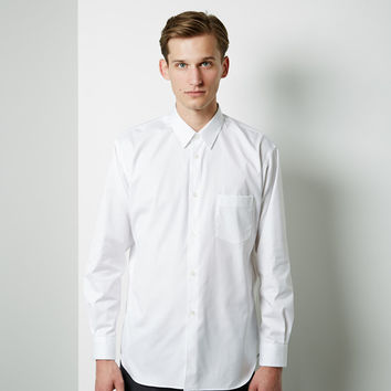 Cotton Poplin Oxford Shirt by Comme des Gar amp;amp;#231;ons Shirt Man