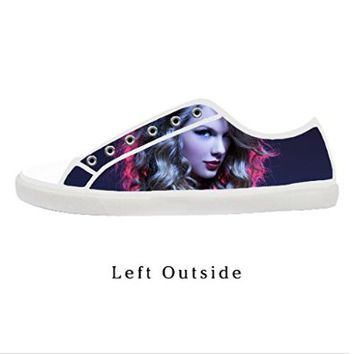 Custom Taylor Swift Women's Canvas Shoes Fashion Shoes for Women