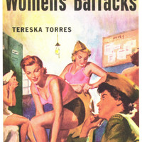 Women's Barracks 11x17 Retro Book Cover Poster