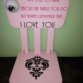 Personalized Time Out Chair with Timer- Couture Fashionista & Best Time Out Chair Products on Wanelo
