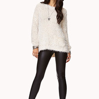 Speckled Fuzzy Sweater