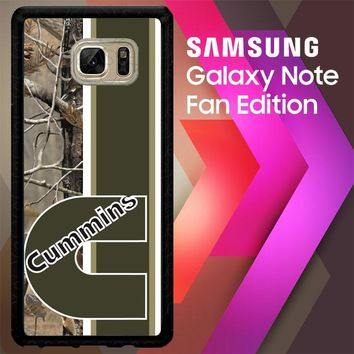 Cummins Logo X2638 Samsung Galaxy Note FE Fan Edition Case