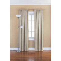 Eclipse Samara Blackout Energy-Efficient Thermal Curtain Panel Available In Multiple Sizes And Colors - Walmart.com
