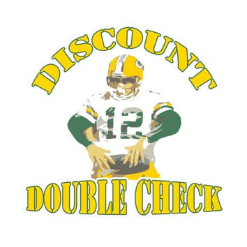 Discount Double Check Shirt Aaron Rodgers Tee Green Bay Packers T-Shirt Mens Cheesehead Ladies Wisconsin Kids Packer Tshirt S M L XL 2XL 3XL