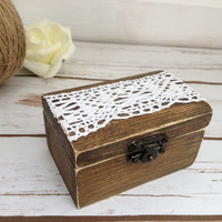 Bridesmaid Gift Box Keepsake Box Wooden Box Bridal Party Gift Box Keepsake Bridal Party Favors Rustic Wedding