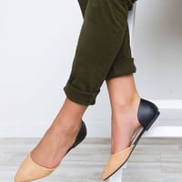 All That Flats - Black/Nude