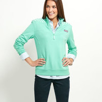 Shop Shep Shirts for Women: Striped Shoulder Shep Shirt for Women - Vineyard Vines
