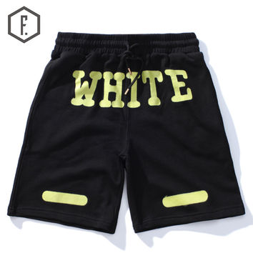Casual Summer Alphabet Shorts [8822206659]
