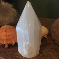 Small Selenite Point Tower