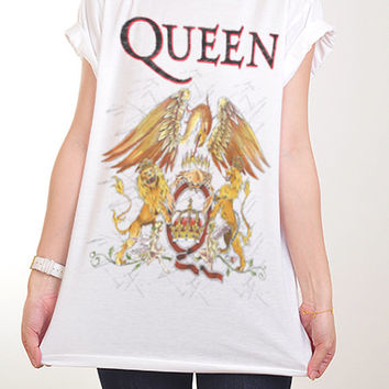 7bfba362 S M L *** New With Tag *** Queen ** Freddie Mercury ** We are