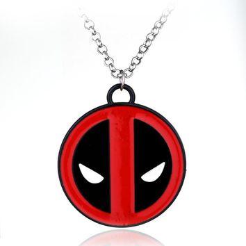 Deadpool Dead pool Taco High Quality  Logo Marvel Necklace Pendant Movie Jewelry AT_70_6