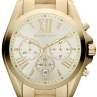 Michael Kors MK5722 WBradshaw Gold and Horn Watch