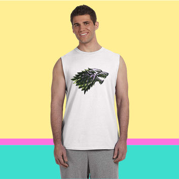 stark wolf Sleeveless T-shirt