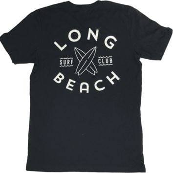 Long Beach Surf Club Pocket - Black