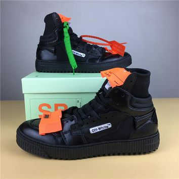 OFF-WHITE CO VIRGIL ABLOH 18SS Black Size 36-44