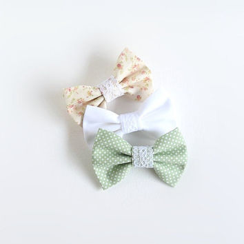 Fabric Bow | Hair Bow Set | Toddler Bows | Baby Bows | Hair Bow Clip | Small Bows | Bow for Hair | Hair Bows for Teens | Bows for Women