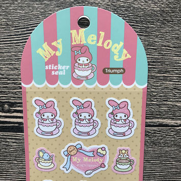 My Melody Stickers - Sanrio 2017