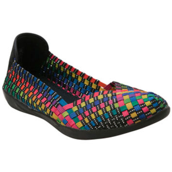 Bernie Mev Catwalk Black Multi Black Multi Casual Shoes