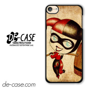Harley Quinn And Joker Art Couple Case Device 2 DEAL-5070 Apple Phonecase Cover For Ipod Touch 6