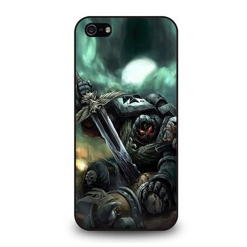 WARHAMMER BLACK TEMPLAR iPhone 5 / 5S / SE Case Cover