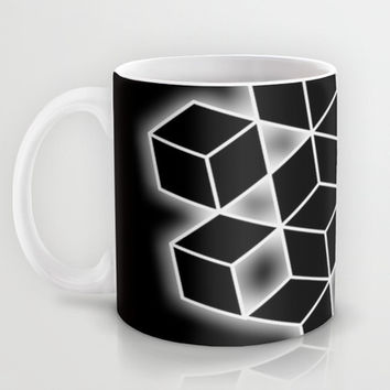 Black & White Glow Mug by DuckyB (Brandi)