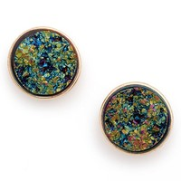 Junior Women's BP. Drusy Stud Earrings