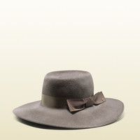 Gucci - felted velour wide-brimmed hat 354362KDH3G2168