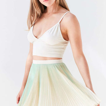 Kimchi Blue Sammy Pleated Mini Skirt - Urban Outfitters
