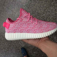 Custom Light Pink Yeezy Boost 350 Low