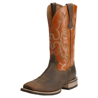 "Ariat Dream Big ""Tombstone"" Boots: Powder Brown Sunnyside - Kids"