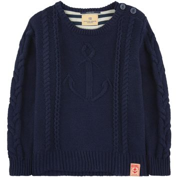 Scotch & Soda Boys Knit Sailor Sweater