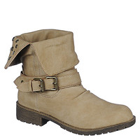 DbDk Womens Sotila-6 taupe low heel ankle riding boot   Shiekh Shoes
