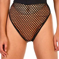 Go After It Fishnet High Waisted Bottoms