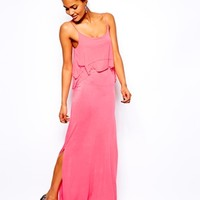 River Island Tiered Maxi Dress