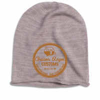 Fallen Angel Customs Camper Logo Oversized Beanie