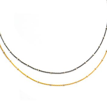 Double Michele Necklace