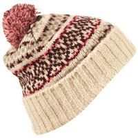Fairisle Hat - Made In Britain