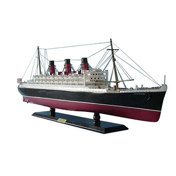 """Queen Mary Limited Model Cruise Ship 40"""""""