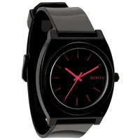 Nixon The Time Teller P Watch Black/Bright Pink One Size For Men 15729817701
