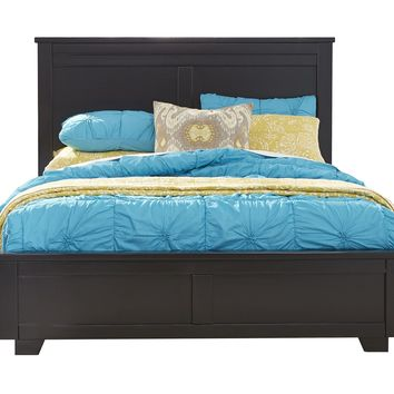 Diego Casual Queen Complete Bed Black